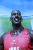 Michael jordans wax figure Stock Photography