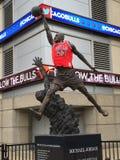 Michael Jordan Statue lizenzfreie stockfotografie