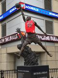 Michael Jordan Statue Royalty Free Stock Photography