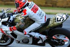 Michael Jordan Suzuki racing Royalty Free Stock Photo