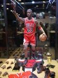 Michael Jordan in TOY SOUL 2015. 1:6 scale Michael Jordan figure in TOY SOUL 2015 in Hong Kong Stock Images