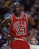 Michael Jordanië Stock Foto's