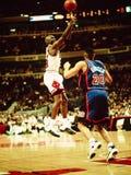 Michael Jordanië Chicago Stieren Stock Fotografie
