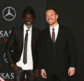 Michael K Williams Michael Fassbender Royaltyfria Foton