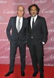 Michael Keaton & Alejandro Gonzalez Inarritu Royalty Free Stock Image