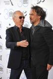 Michael Keaton & Alejandro Gonzalez Inarritu Royalty Free Stock Photography
