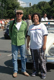 Michael Keaton, Angela Robinson Στοκ φωτογραφία με δικαίωμα ελεύθερης χρήσης