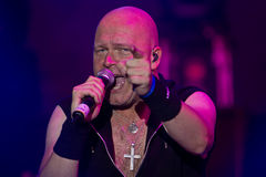 Michael Kiske (Unisonic). Unisonic on Masters of Rock 2012 Royalty Free Stock Photos