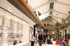 Michael Kors Fashion Store Arkivfoto