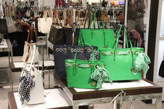 Michael Kors Handbag Fashion Store photos libres de droits