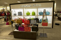 Michael Kors handbags department store Stock Image