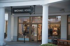 Michael Kors lager i Parndorf, Österrike Arkivbild