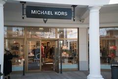 Michael Kors lager i Parndorf, Österrike Royaltyfria Bilder