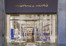 Michael Kors shop Stock Image