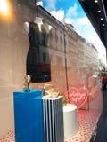 Michael Korso przy Galeries Lafayette Paryż zdjęcia royalty free