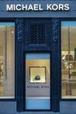 Michael Korso sklepu przód Wielonarodowa mody firma obrazy royalty free