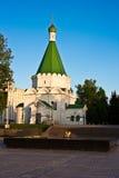 Michael la cathédrale d'Arkhangel dans Nizhniy Novgorod, Russie Images libres de droits
