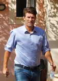 Michael Laudrup coach after training session Stock Photography