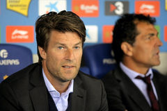 Michael Laudrup of Mallorca Stock Photos