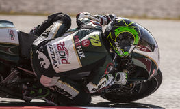 Michael Laverty, MotoGP Montmelo Fotografia Stock