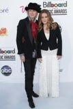 Michael Lockwood, Lisa Marie Presley à la musique 2012 de panneau-réclame attribue des arrivées, Mgm Grand, Las Vegas, le nanovolt Image libre de droits