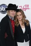 Michael Lockwood, Lisa Marie Presley Royalty Free Stock Photos