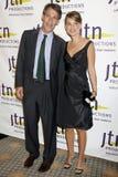 Michael Lynton, Natalie Portman Stock Image