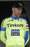 Michael Morkov Team Tinkoff - Saxo Stock Image