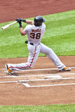 Michael Morse -San Francisco Giants Royalty Free Stock Images