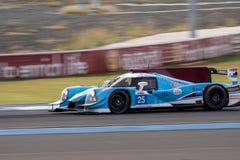 Michael Munemann av Algarve pro-Racing i den asiatLe Mans serien - Royaltyfria Foton
