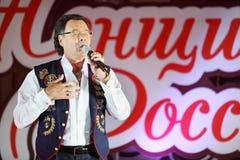 Michael Muromov sings Stock Image