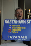 MICHAEL O'LEARY_CEOP RYANAIR Image stock