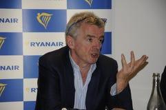 MICHAEL O'LEARY_CEOP RYANAIR Images libres de droits