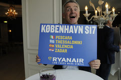 MICHAEL O'LEARY_CEOP RYANAIR Photos stock