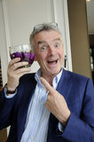 MICHAEL O'LEARY_CEOP RYANAIR Royalty Free Stock Photos