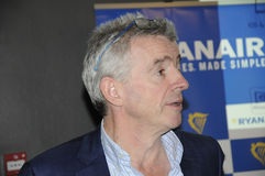 MICHAEL O'LEARY_CEOP RYANAIR Stock Image