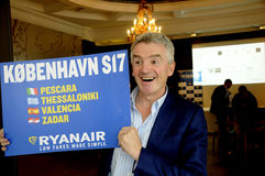 MICHAEL O'LEARY_CEOP RYANAIR Stock Photo