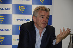 MICHAEL O'LEARY_CEOP RYANAIR Royalty Free Stock Photo