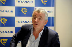 MICHAEL O'LEARY_CEOP RYANAIR Royalty Free Stock Image