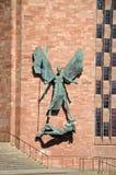 Michael och jäkeln, Coventry Arkivbilder