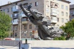 Michael Panikaha Stalingrad, Rusia imagen de archivo libre de regalías
