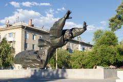 Michael Panikaha Stalingrad, Rusia imagen de archivo