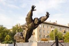 Michael Panikaha Stalingrad, Rusia fotografía de archivo libre de regalías