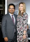 Michael Pena and Brie Shaffer royalty free stock photos