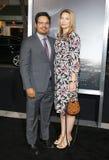 Michael Pena en Brie Shaffer royalty-vrije stock afbeeldingen