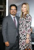 Michael Pena et Brie Shaffer photos stock