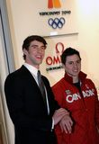 Michael Phelps and Alexandre Bilodeau Royalty Free Stock Photo