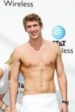 Michael Phelps imagem de stock royalty free