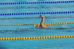 Michael Phelps, geöffneter EEF Paris 2010 lizenzfreie stockbilder