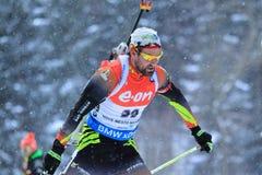 Michael Roesch - biathlon Stock Images